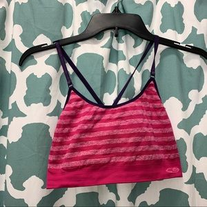 Large pink champion sports bra
